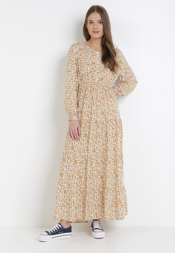 Żółta Sukienka Laomia