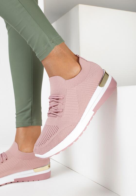 Różowe Buty Sportowe Kaigune
