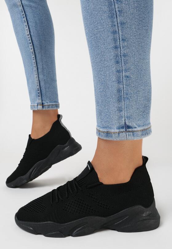 Czarne Buty Sportowe Liliphis