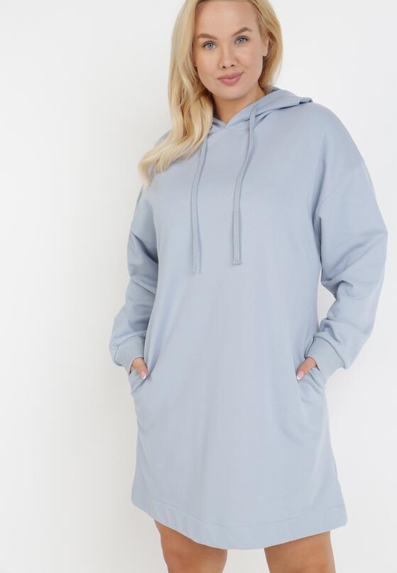 Jasnoniebieska Sukienka Morgarea