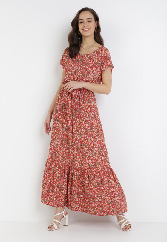 Czerwona Sukienka Neadorise