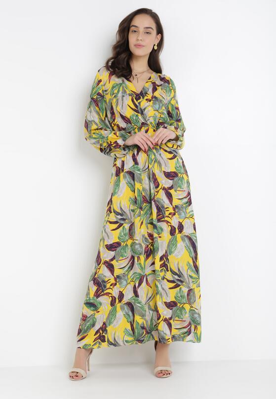 Żółta Sukienka Corraeneva
