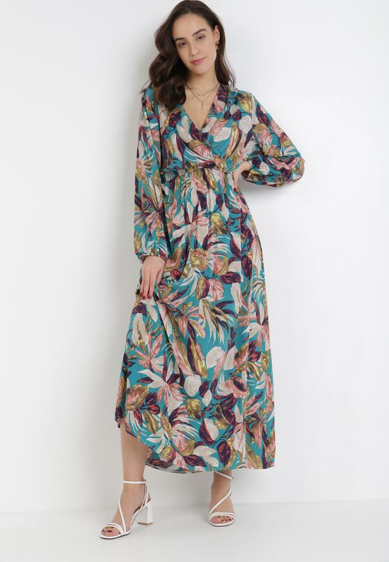 Jasnoniebieska Sukienka Corraeneva