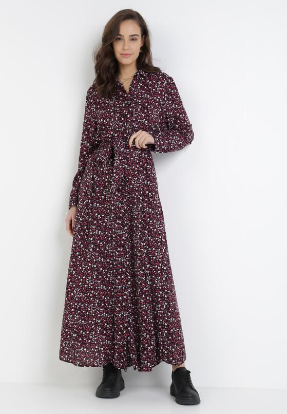 Czarna Sukienka Celanisse
