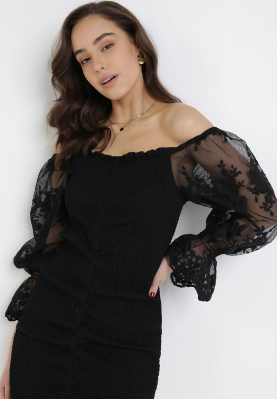 Czarna Sukienka Thalalina