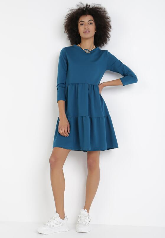 Niebieska Sukienka Alethris