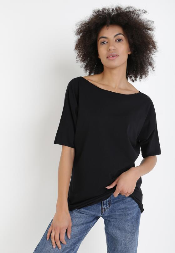 Czarny T-shirt Kissosi