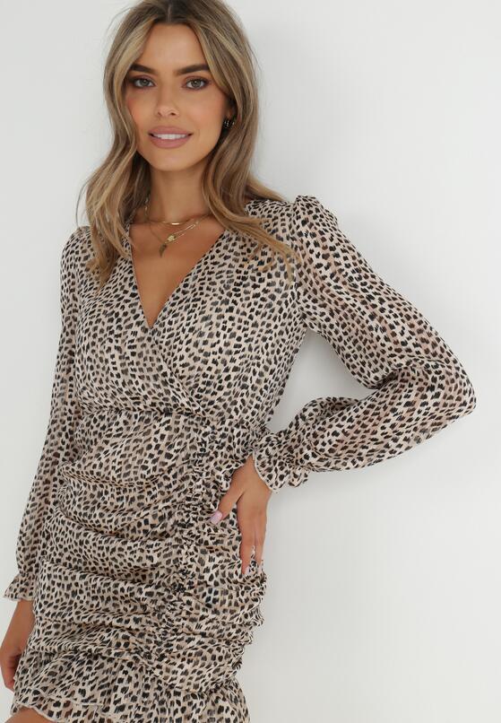Beżowa Sukienka Boulderswift