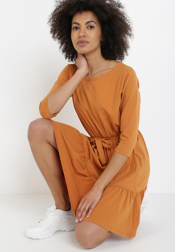 Camelowa Sukienka Thaniphi