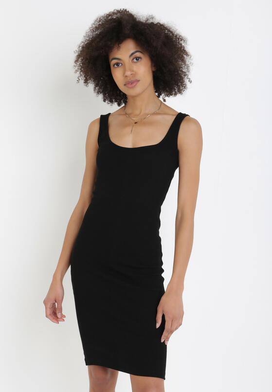 Czarna Sukienka Pasose
