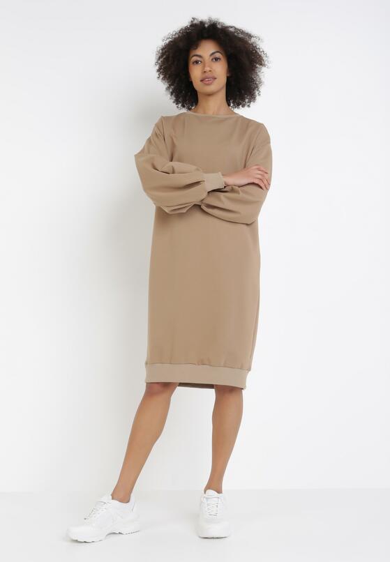 Jasnobeżowa Sukienka Iasyse