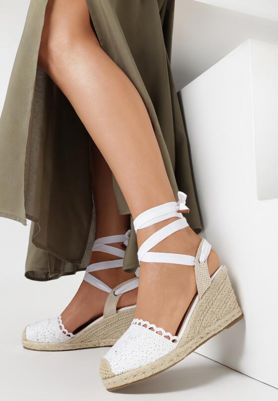 Białe Sandały Salethe