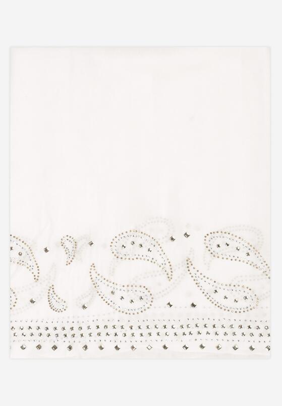 Biały Szalik Rhetholphi
