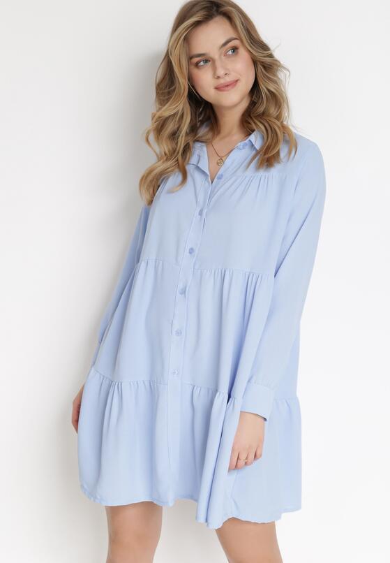 Jasnoniebieska Sukienka Harelora