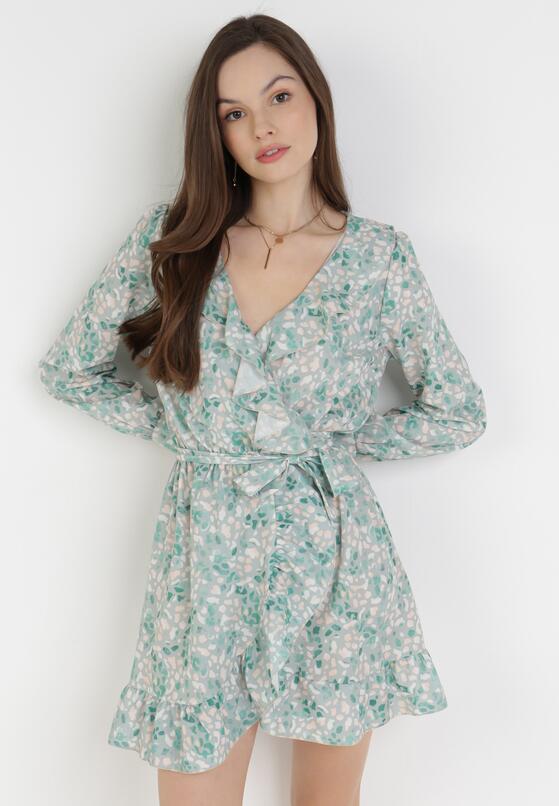 Jasnozielona Sukienka Undineh