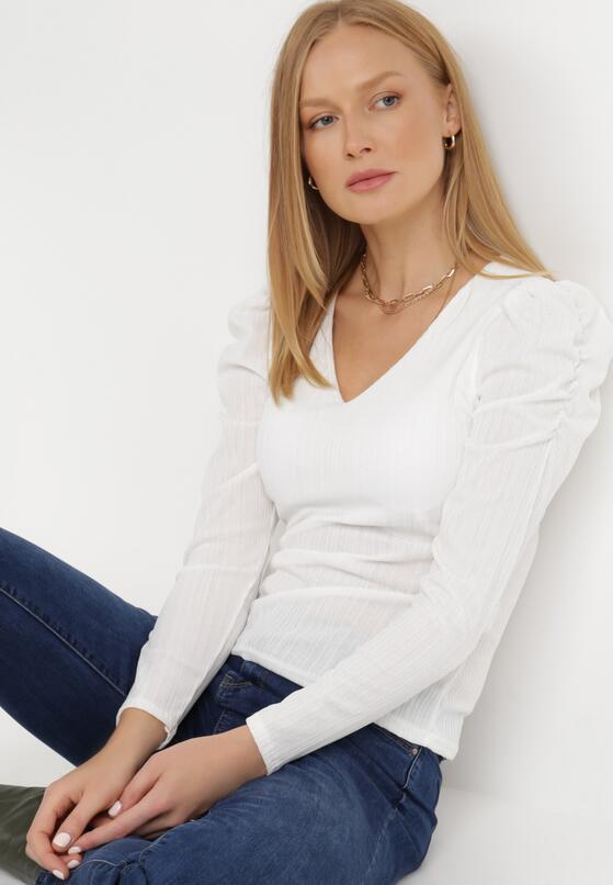 Biała Bluzka Corothea