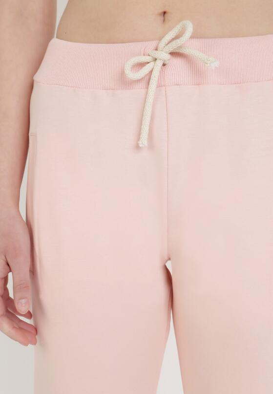 Jasnoróżowe Spodnie Dresowe Shylienne