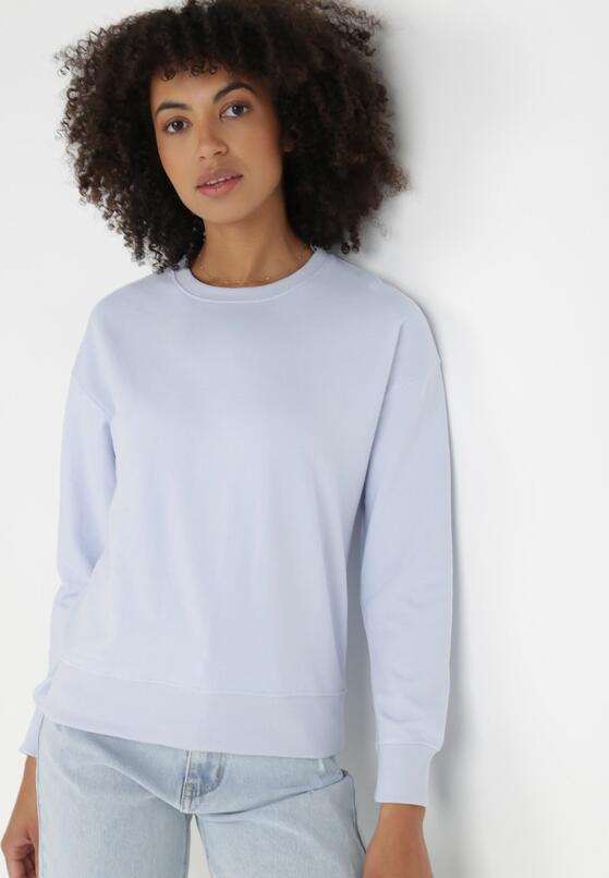 Liliowa Bluza Dorise