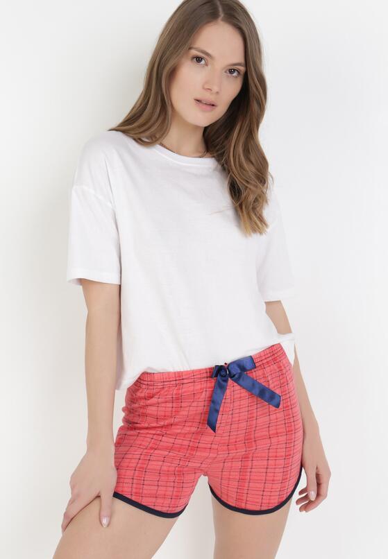 Ciemnoróżowe Spodnie Piżamowe Salaphanise