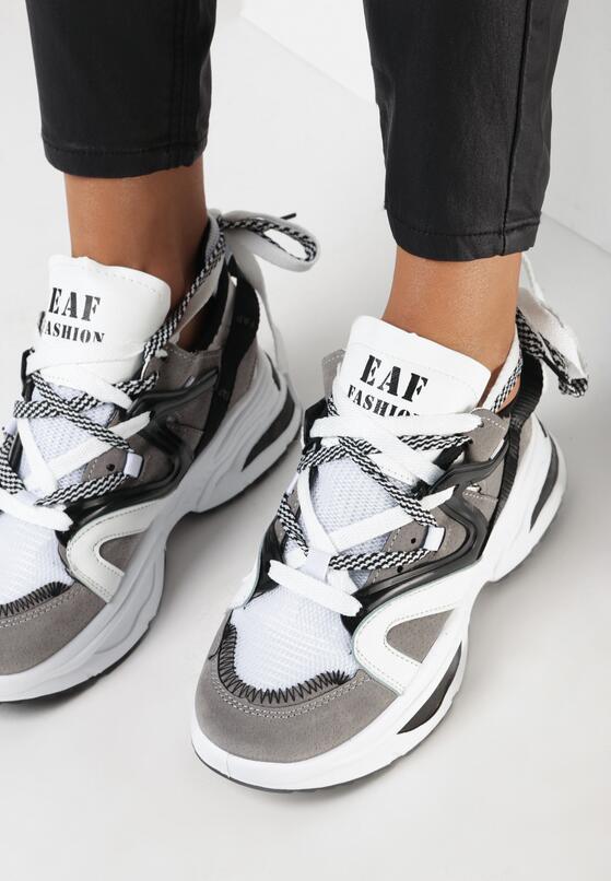 Szare Sneakersy Celareanes