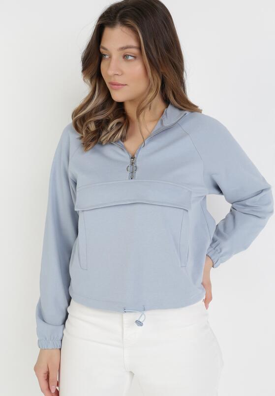 Jasnoniebieska Bluza Euthelphise