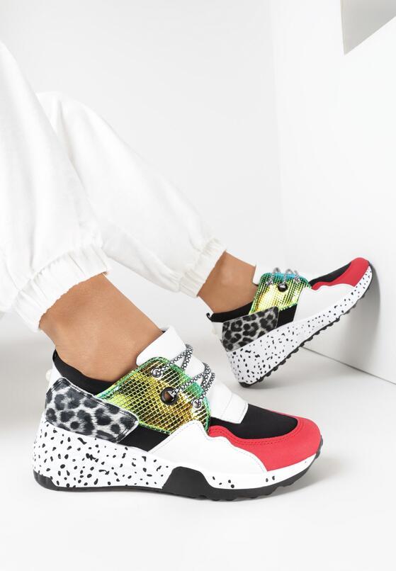 Biało-Czarne Sneakersy Thronali