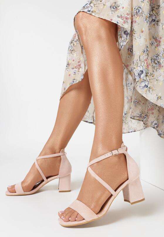 Różowe Sandały Sabeosis