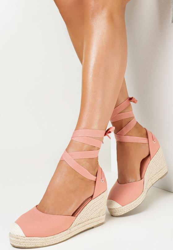 Różowe Sandały Orphali