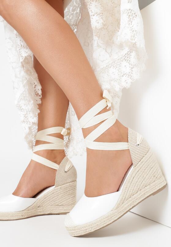 Białe Sandały Sylphionis