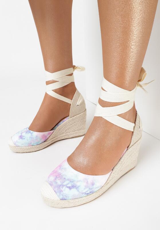 Liliowe Sandały Sylphionis