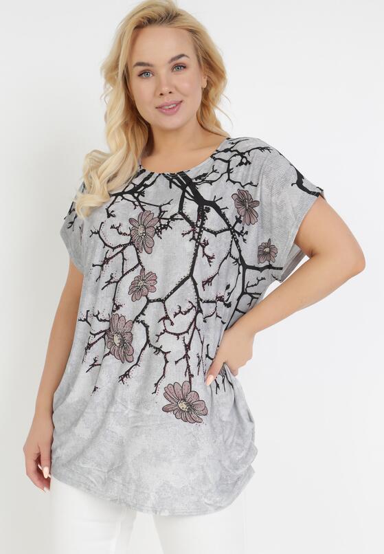 Szary T-shirt Ethallis