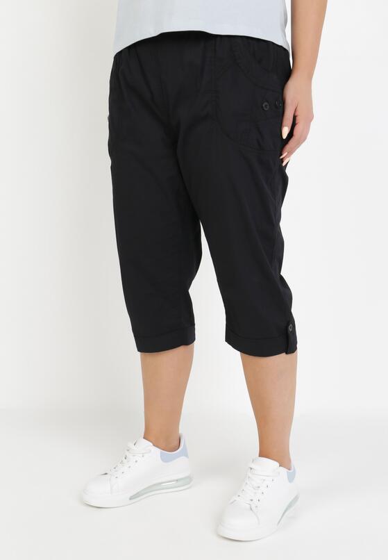 Czarne Spodnie Kathais