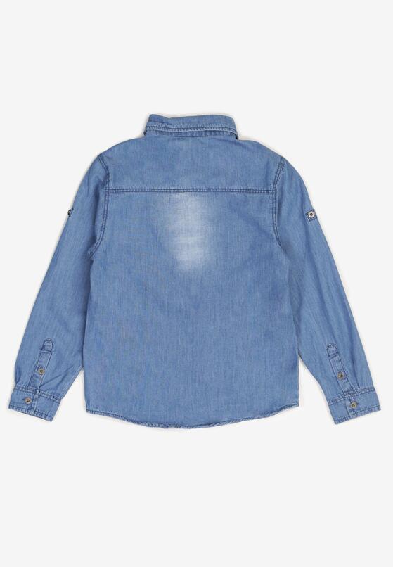 Niebieska Koszula Phaethyxo