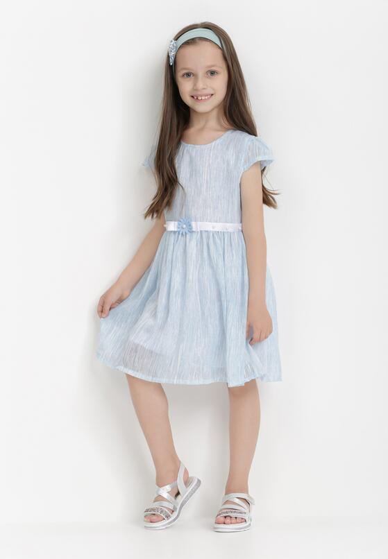 Jasnoniebieska Sukienka Atholphi