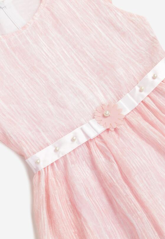 Jasnoróżowa Sukienka Atholphi