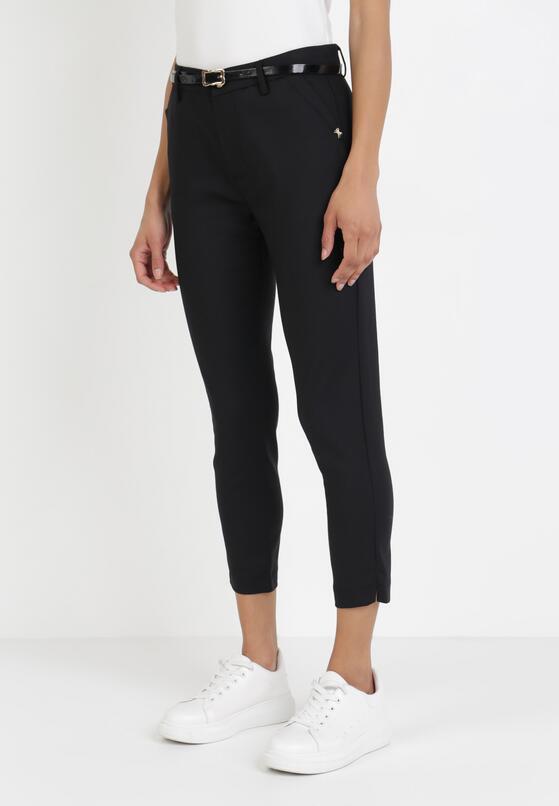 Czarne Spodnie Thanetis
