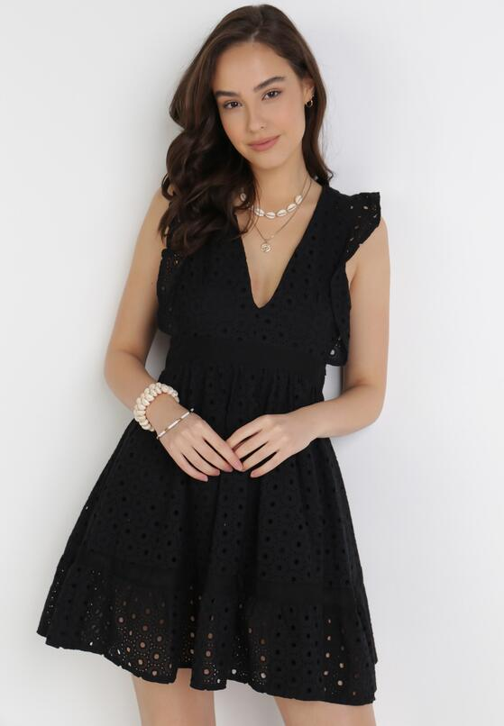 Czarna Sukienka Aelossia