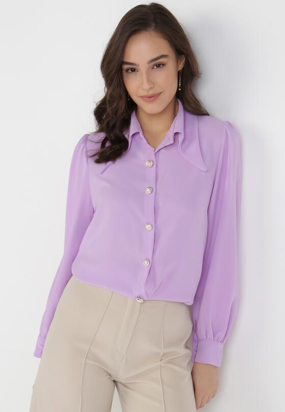 Liliowa Koszula Philiphise