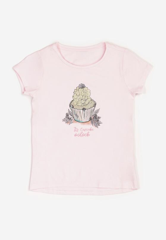 Jasnoróżowa Koszulka Poreimei