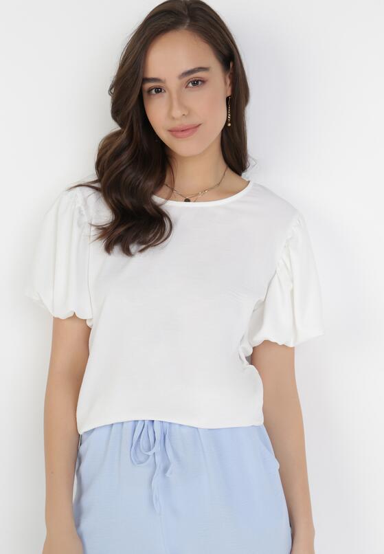 Biała Bluzka Samiphaeia