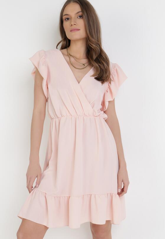 Jasnoróżowa Sukienka Astriax