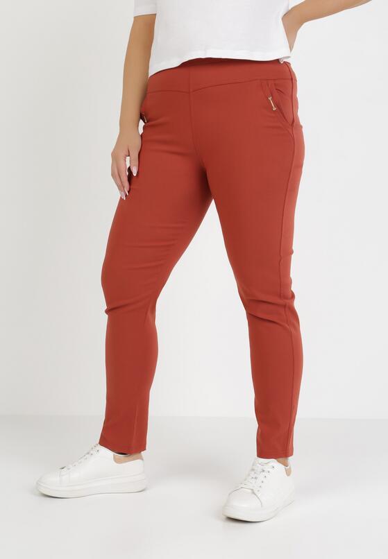 Czerwone Spodnie Usinvielle
