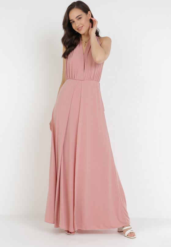 Łososiowa Sukienka Sagassa