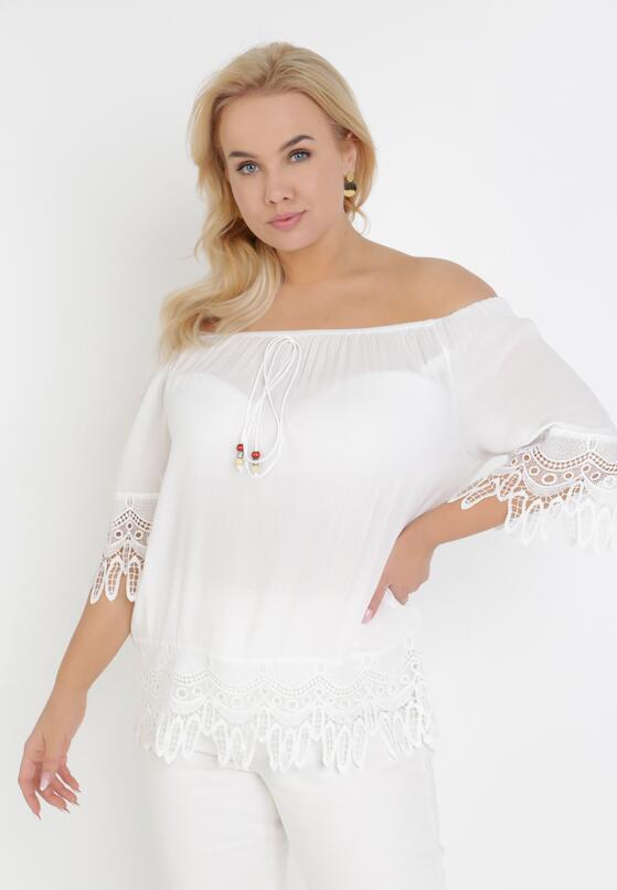 Biała Bluzka Sheirin