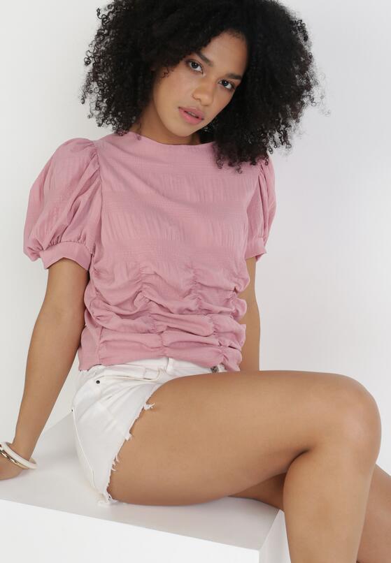 Różowa Bluzka Acsinix