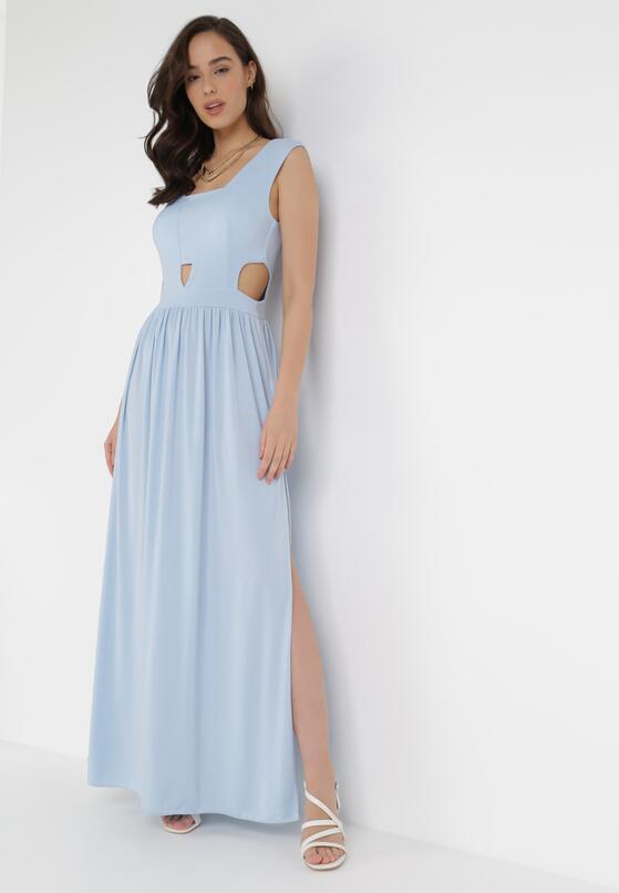 Jasnoniebieska Sukienka Sagiphei