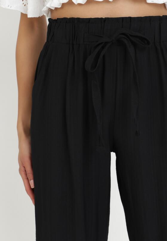 Czarne Spodnie Kylsea
