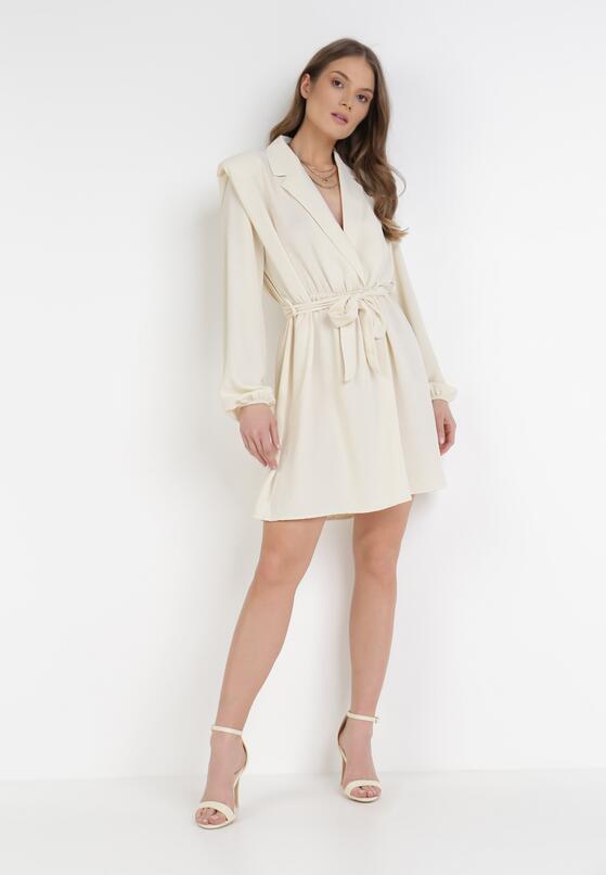 Jasnobeżowa Sukienka Gryntarish