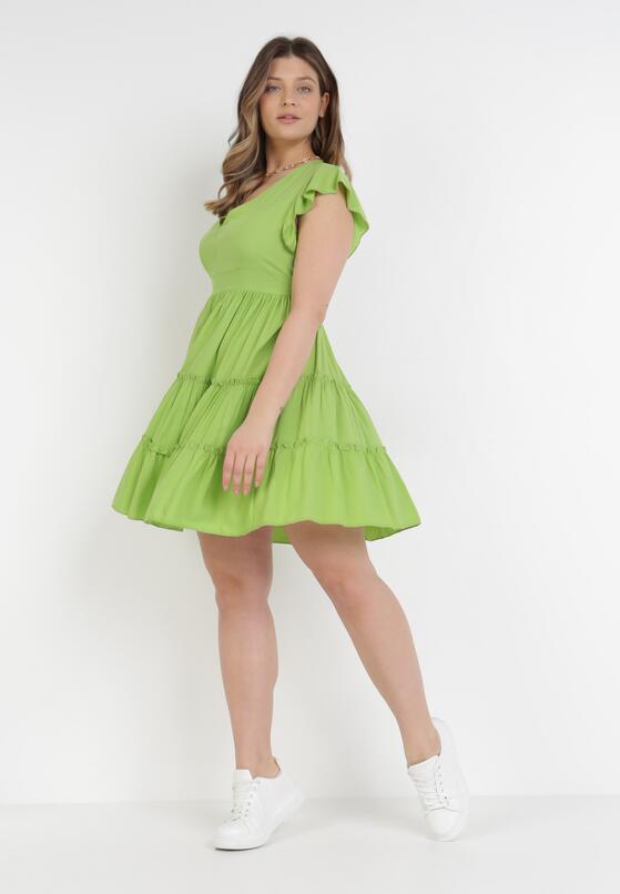 Jasnozielona Sukienka Callirea