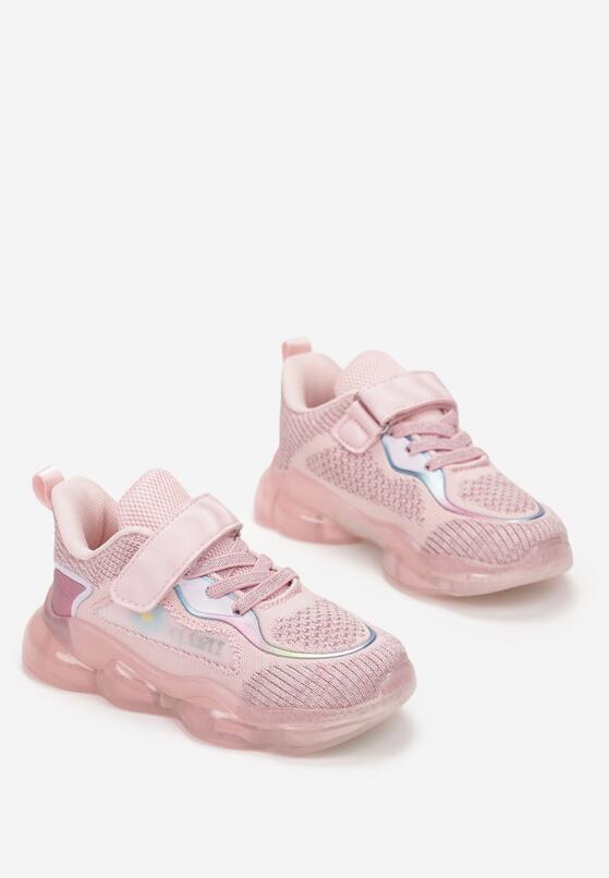 Różowe Buty Sportowe Genna